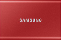Samsung Portable SSD T7 500GB Rood