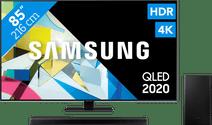 Samsung QLED 85Q80T + Soundbar