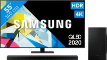 Samsung QLED 55Q80T + Soundbar