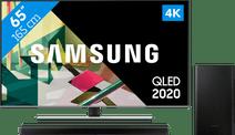 Samsung QLED 65Q74T + Soundbar