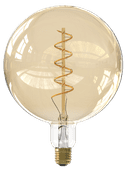 Calex WiFi Smart XXL G200 Globe Lamp Gold E27