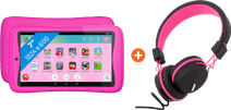 Kurio Tab Connect Studio 100 Pink + Headphones