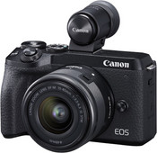 Canon EOS M6 Mark II Black + 15-45mm + EVF-DC2