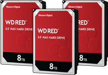 WD Red WD80EFAX 8TB 3-pack - RAID 0, 1, or 5