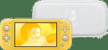 Nintendo Switch Lite Yellow + Travel Case
