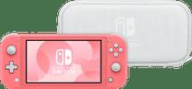 Nintendo Switch Lite Coral + Travel Case