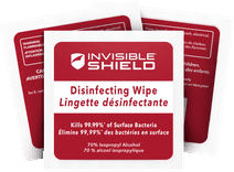 InvisibleShield Antibacteriële Schoonmaakdoekjes 10 stuks