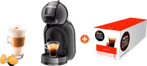 Krups Dolce Gusto Mini Me KP1208 Zwart + Lungo 3 pack