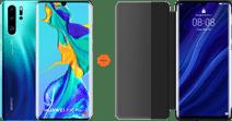 Huawei P30 Pro 128GB Blue + P30 Pro View Flip Cover Book Case Black