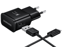 Samsung Charger with USB-C Cable 1.2m Adaptive Fast Charge 15W Black