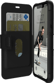 UAG Metropolis Apple iPhone 11 Pro Book Case Zwart