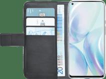 Azuri Wallet OnePlus 8 Book Case Zwart