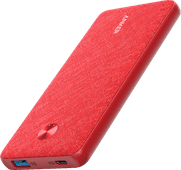 Anker PowerCore Fabric Power Bank 10,000mAh Power Delivery Red