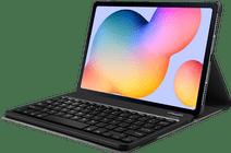 Just in Case Samsung Galaxy Tab S6 Lite Premium Toetsenbord Hoes Zwart QWERTY