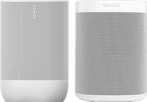 Sonos Move White + Sonos One SL White