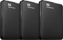 WD Elements Portable 1TB 3-pack