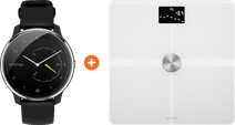 Withings Move ECG Silver/Black + Withings Body + White