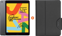 Apple iPad (2019) 128 GB Wifi Space Gray + Targus VersaVu Book Case