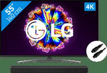 LG 55NANO816NA (2020) + Soundbar + Optische kabel
