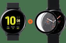 Samsung Galaxy Watch Active2 Black 44mm Aluminum + PanzerGlass Samsung Galaxy Watch Active