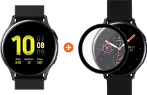 Samsung Galaxy Watch Active2 Black 40mm Aluminum + PanzerGlass Samsung Galaxy Watch Active