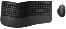 Microsoft Ergonomic Keyboard and Mouse QWERTY