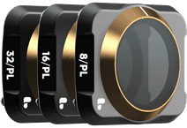 Polar Pro Vario ND Combo filter set 2-5 and 6-9 stops for DJI