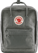 Fjällräven Kånken Re-Wool Granite Grey 16L