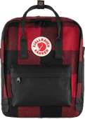 Fjällräven Kånken Re-Wool Red-Black 16L