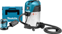 Makita DBO180ZJ (without battery) + Makita VC3011L