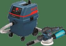 Bosch GEX 125-150 AVE + Bosch GAS 25 L SFC NL