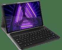 Just in Case Lenovo Tab M10 Plus Premium Toetsenbord Hoes Zwart QWERTY