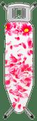Brabantia Ironing Board B 124x38cm Pink Santini with Iron Holder