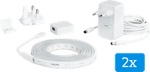 Philips Hue Lightstrip Plus White & Color Bluetooth 2x2m Basisset