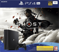 Sony PlayStation 4 Pro 1 TB Ghost of Tsushima Bundel