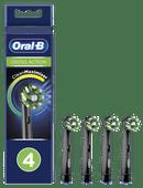 Oral-B CrossAction Black Edition Opzetborstel 4 Stuks