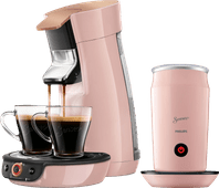 Philips Senseo Viva Café Duo Select HD6564/30 Pink + Milk frother