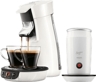 Philips Senseo Viva Café HD6563/00 White + Milk Frother