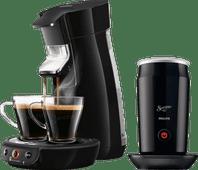 Philips Senseo Viva Café HD6563/60 Zwart + Melkopschuimer