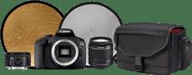 Canon EOS 2000D - Starter Kit + Portrait Lens