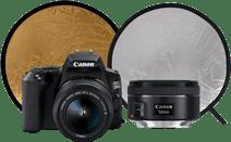 Canon EOS 250D - Starterskit + Portretlens