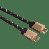 Hama HDMI 2.1 kabel verguld 1 meter