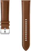 Samsung Galaxy Watch3 45mm Leather Strap Brown 22mm