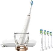 Philips Sonicare DiamondClean 9000 HX9911/94 + Optimal White Standard HX6064/11 (4 units)
