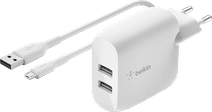 Belkin BoostCharge Charger 2 USB Ports with