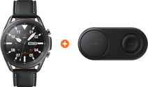 Samsung Galaxy Watch3 Black 45mm + Samsung Wireless Charger DUO Pad Black