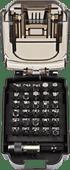 Makita Screwdriver Bit Set B-68317 31-piece