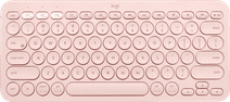 Logitech K380 Draadloos Toetsenbord QWERTY Roze