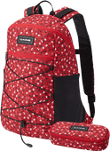 Dakine WNDR Pack 18L Crimson Rose + School Case