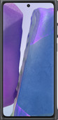 Samsung Galaxy Note 20 Clear Protective Back Cover Zwarte Rand
